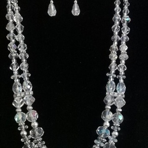 Crystal Necklace Set - $35.00