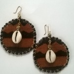 Mud Cloth Earrings - $11.00