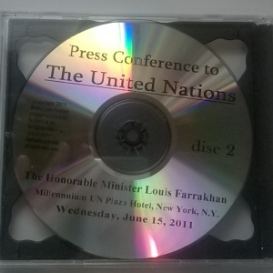 Press Conference to The United Nations By Hon. Min. Louis Farrakhan