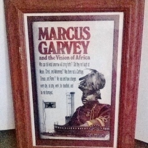 Historical Figures Framed Wall Art -Marcus Garvey (Used)