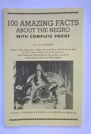 100 Facts about the Negro- $6.00