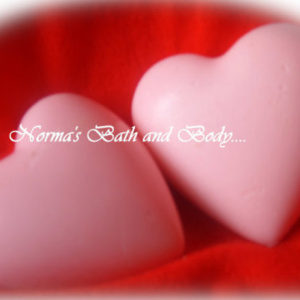 Norma's Bath Heart Soaps - $ 8.00