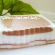 cinnamon and chocolate soap